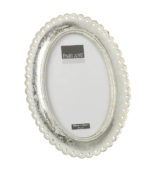 Parlane beaded oval picture frame