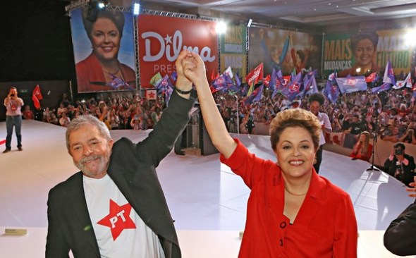Resultado de imagem para paulista lula e dilma