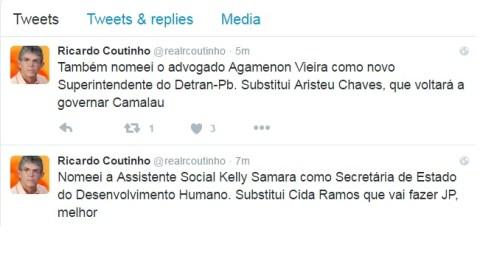 Ricardo Twitter