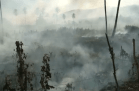 Incêndio em Alagoa Grande - Foto reprodução TV Cabo Branco