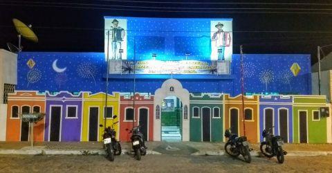 Escola municipal Eudenicio Correia Lins, em Barra da Santa Rosa
