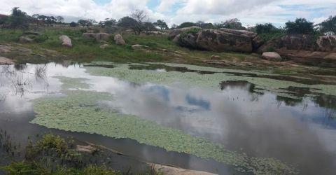 Lagoa da Caubeira em Baraúna, Seridó da Paraíba