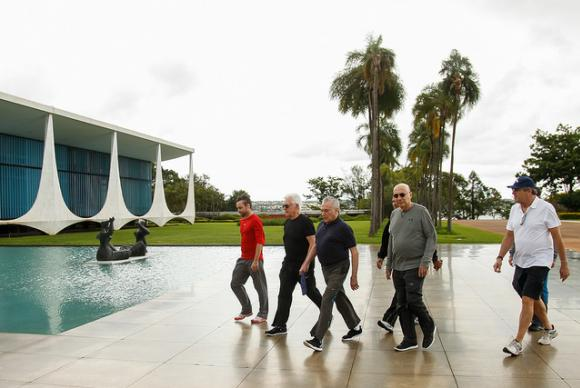 Temer se reúne com apóstolo Valdemiro Santiago no Palácio do Planalto