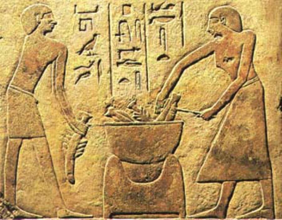 COZINHA-EGIPCIA O Natal na terra dos faraós