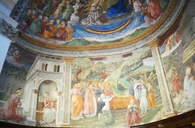 decorazione catino absidale Filippo Lippo