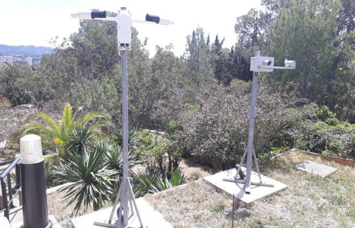 Strumenti Meteorologici del Centro Studi Delta dell'Ebro