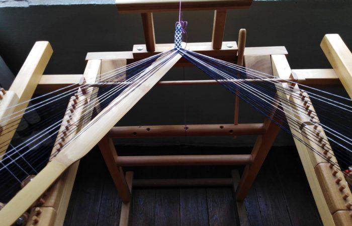 corso di telaio giapponese per le trecce