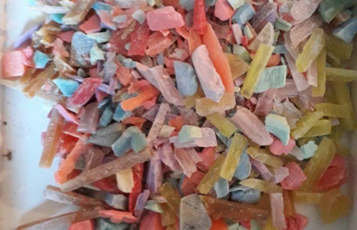 componenti del sapone a intarsio