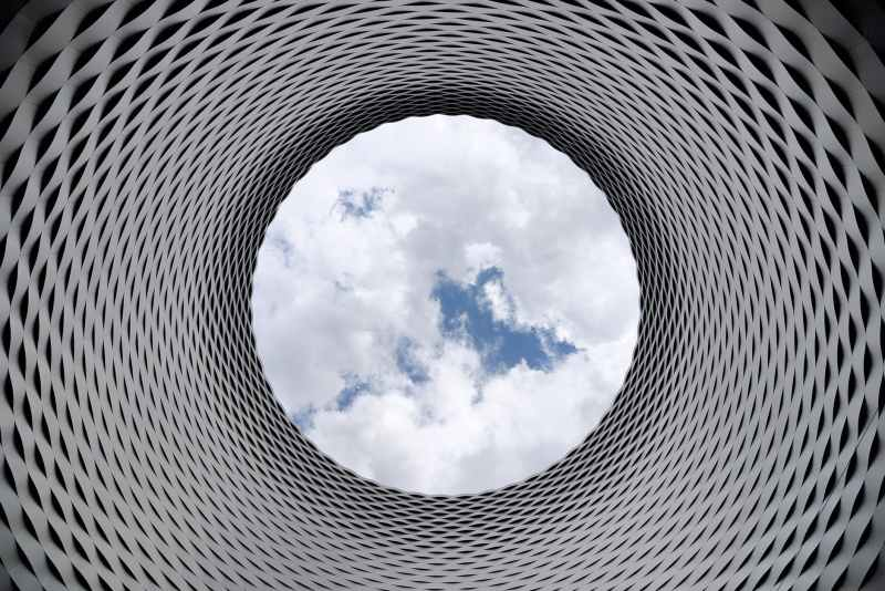 abstract aluminum architectural architecture