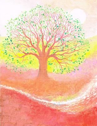 L'homme est comme un arbre planté- Psaume , Panorama, Maïte Roche