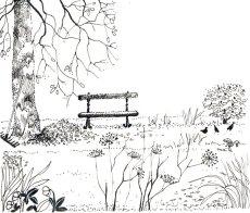 Le banc solitaire, MaÏte Roche, Panorama, 1985