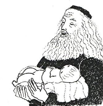 Siméon et Jésus, MaÏte Roche, Panorama, 1985