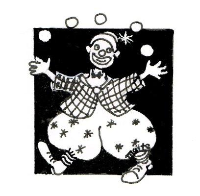 Le jongleur, Panorama, Maïte Roche, 1986