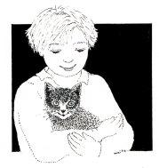 Le chat gris et le sourire, Maïte Roche, Panorama1986