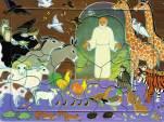 Noé et les animaux, puzzle 16 pièces, Maïte Roche, Mame