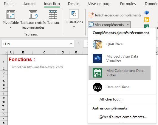 Excel 365 : Comment gérer les compléments du store sur Excel en moins de 5 min?