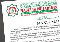 Maklumat Majelis Mujahidin Terkait Wabah Virus Corona (COVID-19)