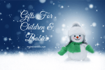 Gifts For Children & Babies ~ Holiday Gift Guide 2018