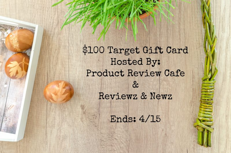 EASTER IS COMING- ENTER TO WIN $100 TARGET GIFT CARD #GIVEAWAY