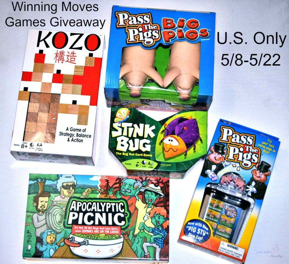 Winning Moves Games Giveaway! #giveaway