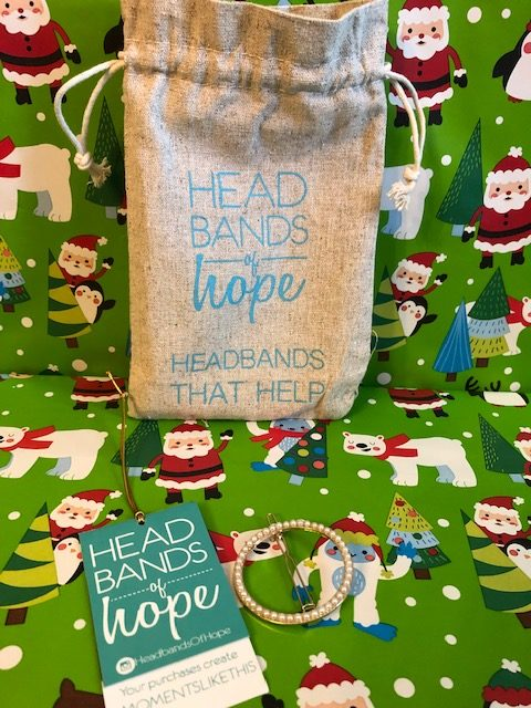 Pearly Gold Clip- Headbands of Hope