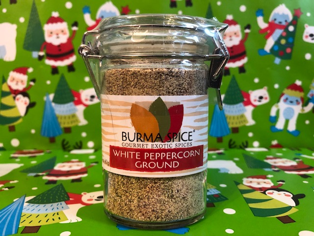 Ground White Peppercorn- Burma Spice