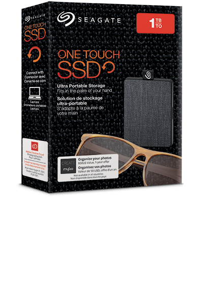 One Touch SSD: Ultra-Small, Portable External SSD