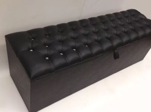 ottoman chesterfield storage box high quality extra large 54 inch