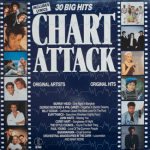 K-tel Chart Attack - front cover.