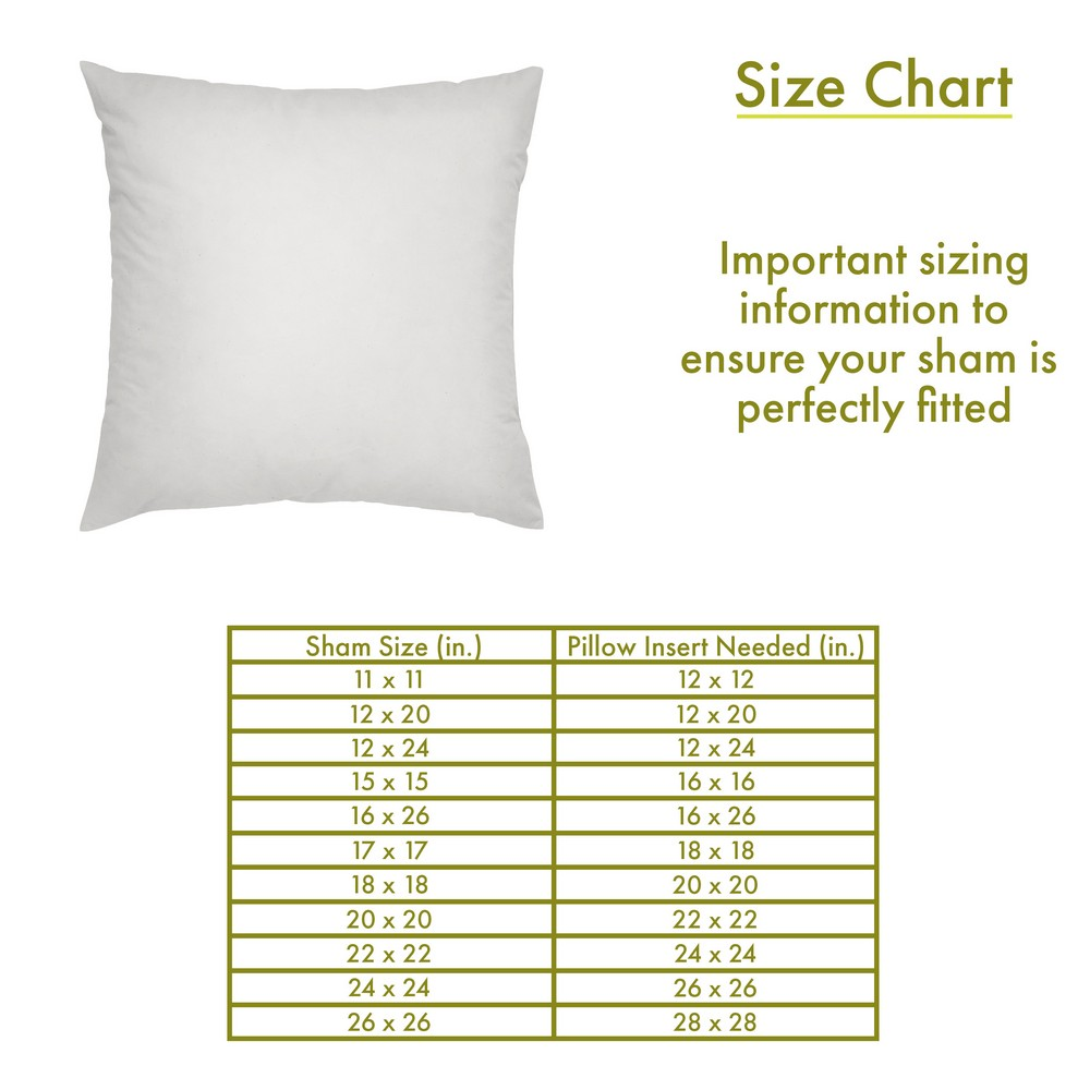 hypoallergenic down alternative pillow insert square