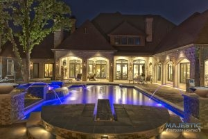 landscape lighting in fort worth and