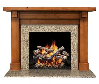 quartz series direct vent gas fireplace