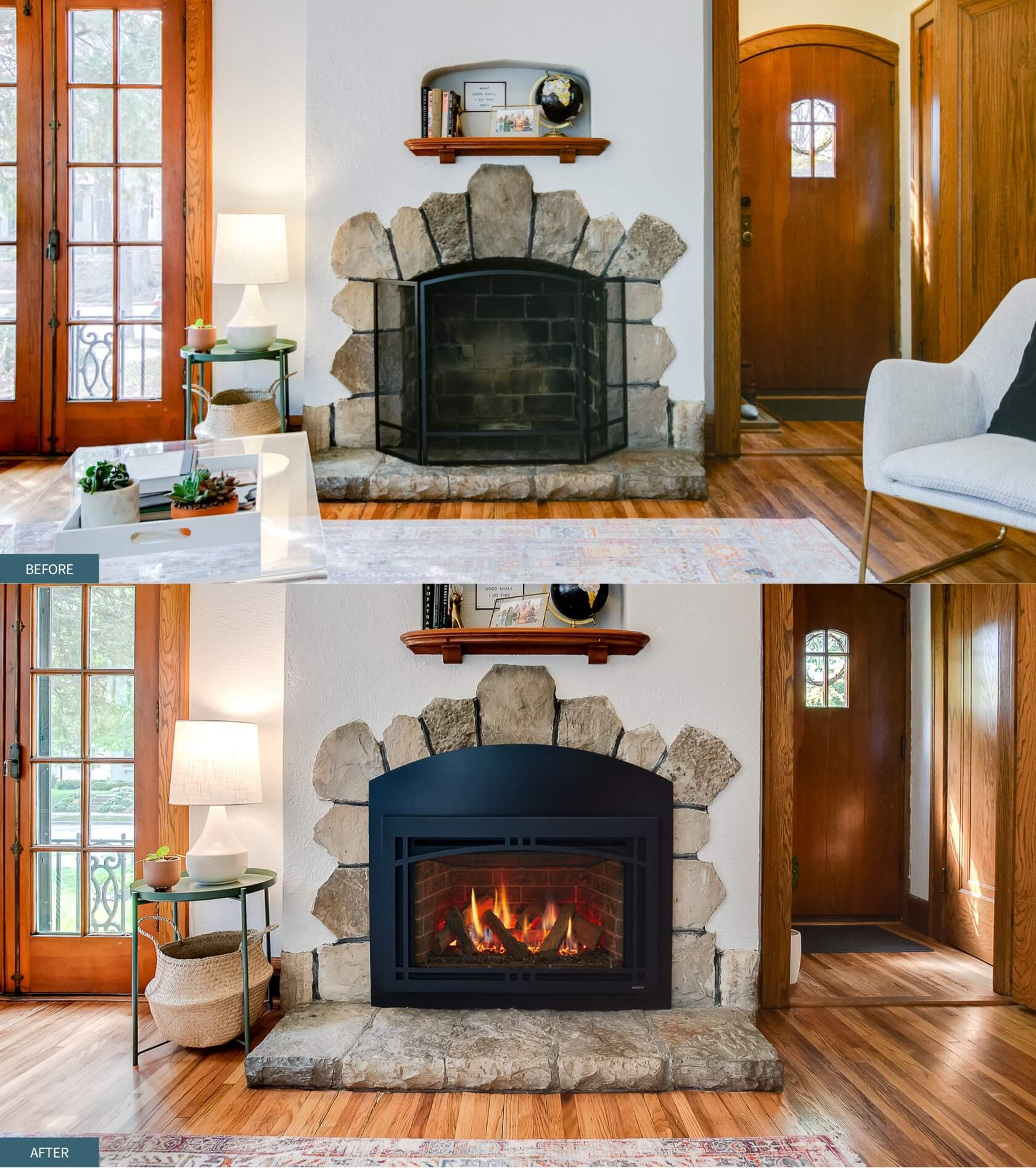 inserts from lehrer fireplace and patio