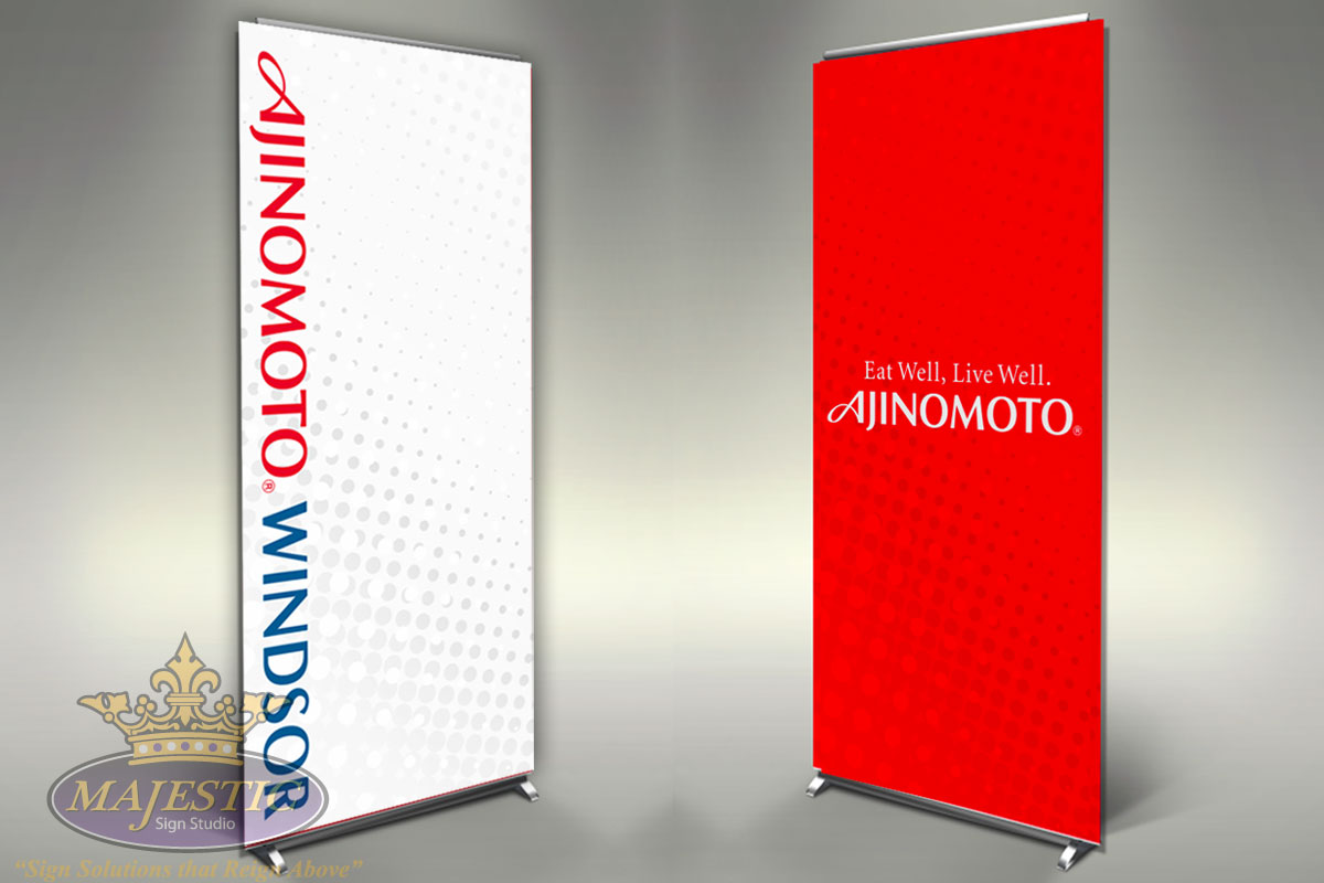 trade show displays booths banners retractable banners