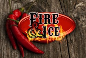Majestic Sign Studio | Logo Design: Fire & Ice Chili Cookoff