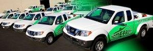 Vehicle Wraps Fleet Wraps - Homefront-Pest-Control-Fleet-Wraps
