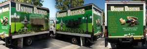 Unique Designs - Box Truck Wrap