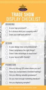 Trade Show Display Checklist