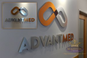Gallery-Interior-Signs-Acrylic-Brushed-Aluminum-Laminate-Faces-Clear-Printed-Vinyl-Overlay-Advantmed
