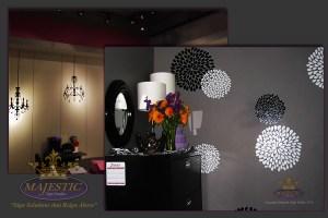 Lobby design ideas_custom wallpaper decals