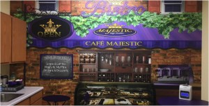 Restaurant brand sign 6_wall mural-wall graphics
