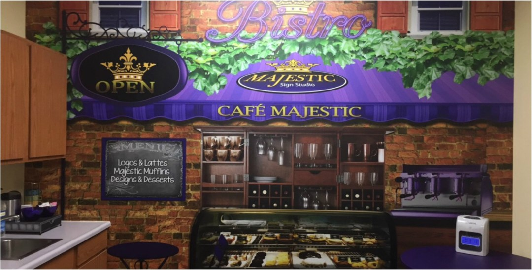 Majestic Sign Studio - Office Wall Graphics
