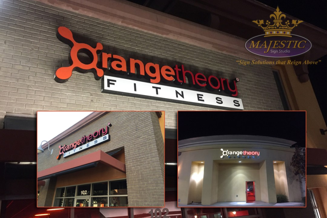 Fitness Center Mall Sign