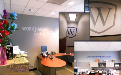 Enhance Your Office With Lobby Signs & Wall Graphics