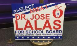 Coroplast (Corrugated) Campaign Sign