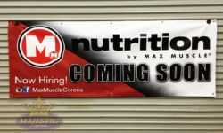 Coming Soon Banner - Nutrition Shop