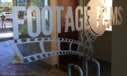 Footage Glass ADA Signs