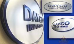 Dayco Lobby Signs