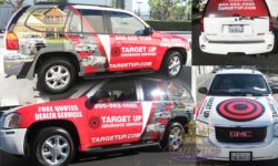 Full Vehicle Wraps - Insurance Company, California