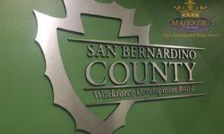 San Bernardino County Interior Sign
